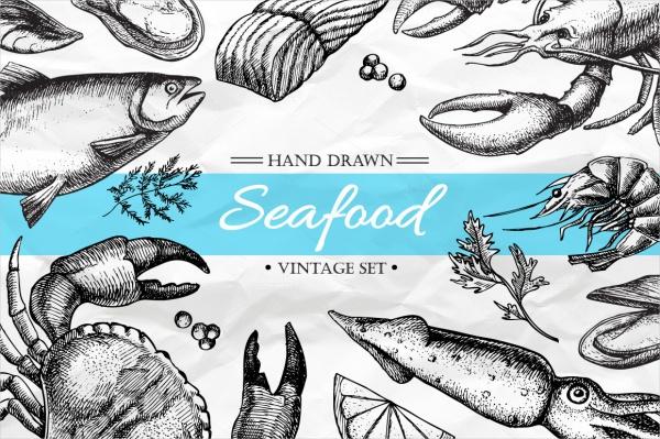 Healthy Sea Food Clipart