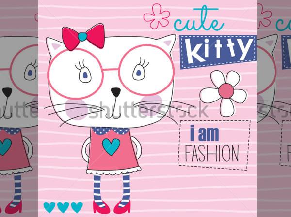 Hello Kitty Fashion Invitation