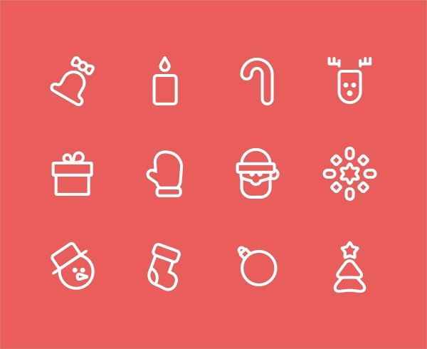High Quality New Year Icons