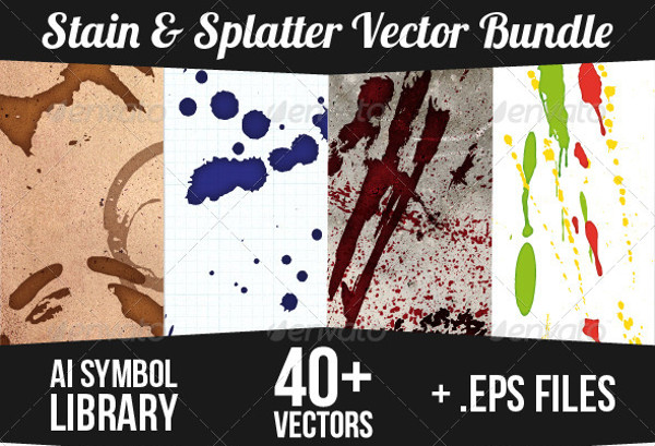 High Quality Splatter Vectors