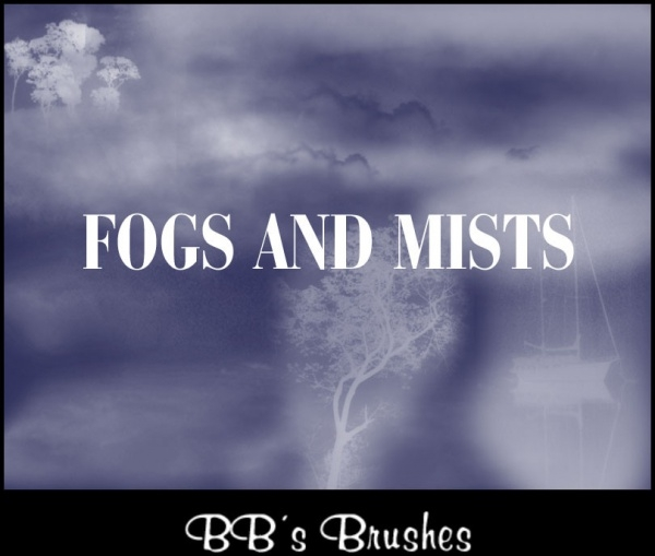 High Resolution Fogs Brushes