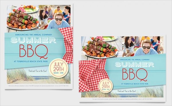 Highly Editable Cookout Flyer