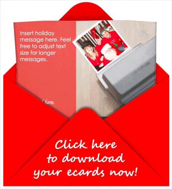 Holiday Email Card Template