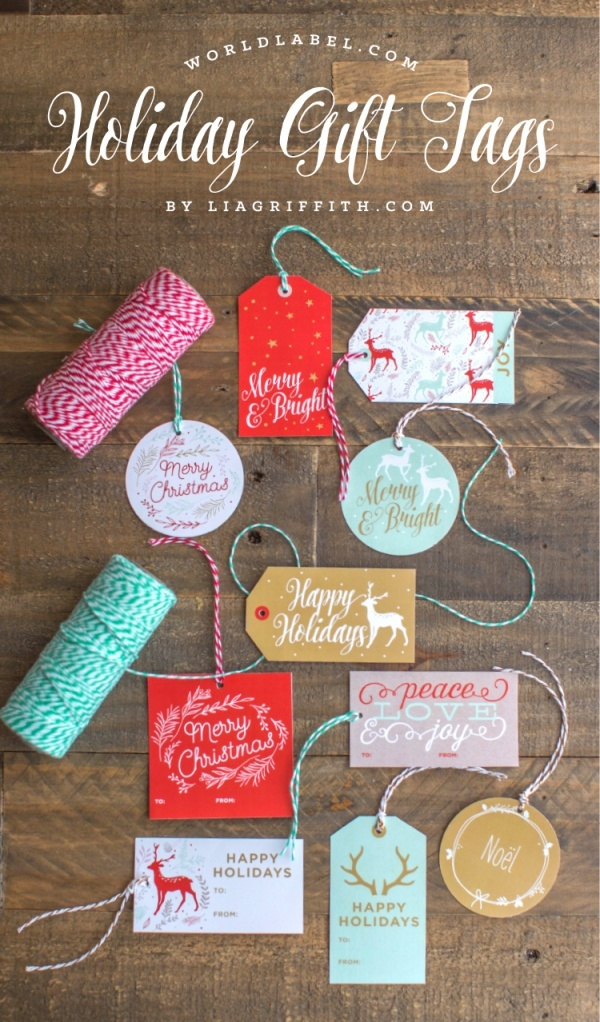 Holiday Gift labels & tags