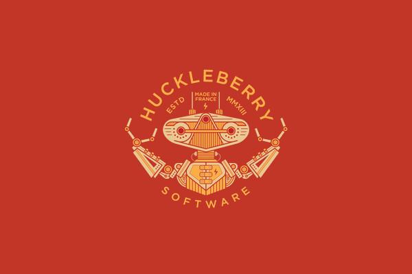 Huckleberry Software Mark Logo