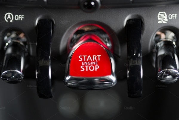Ignition System Stop Button Design