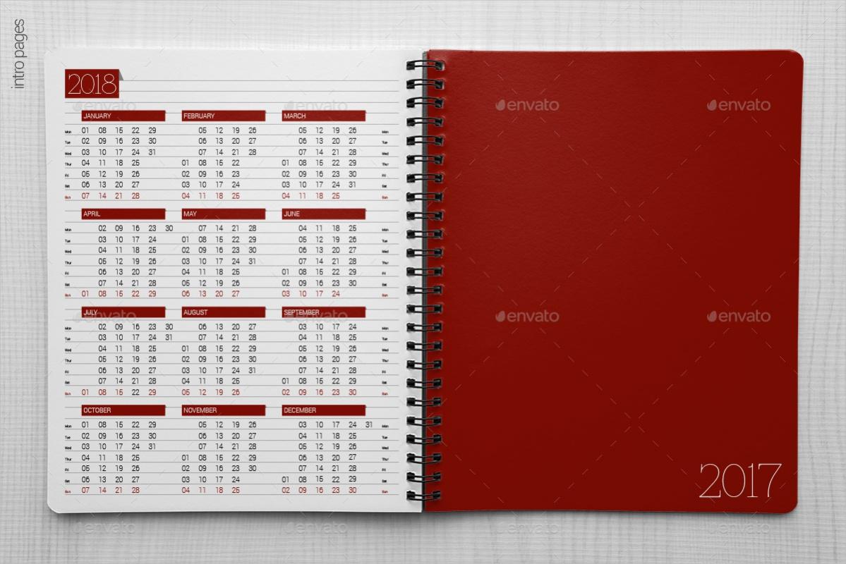 Indesign Calendar Organizer