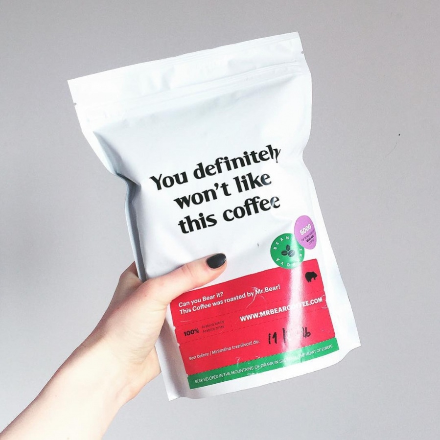 Isolated Coffee Foil Bag