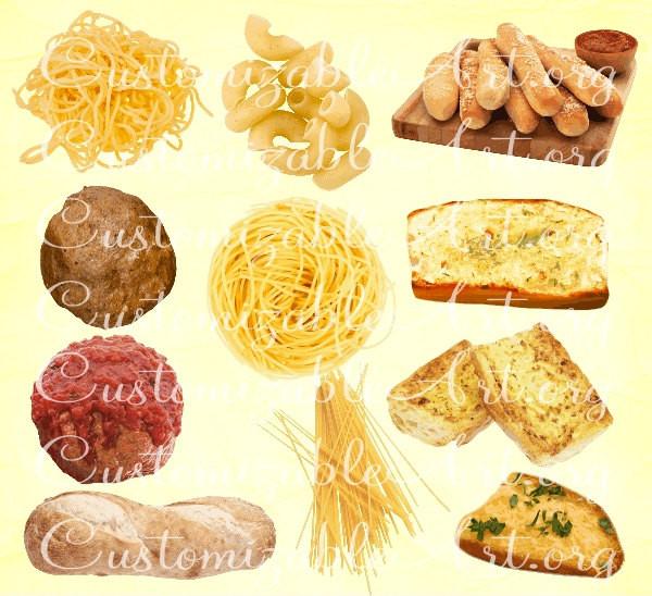 Italian Food Pasta Clipart