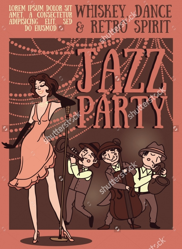 Jazz Band Flyer Design