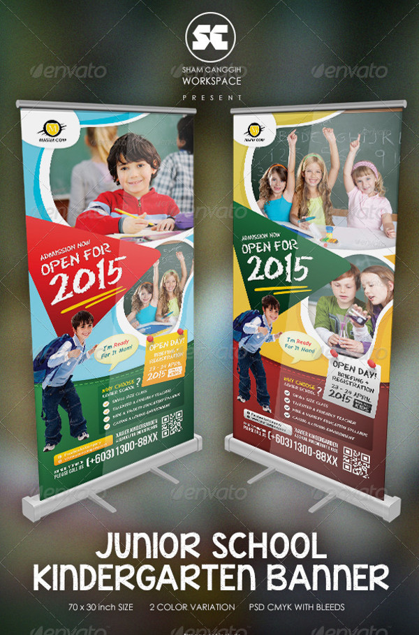 Kindergarten Junior School Banner