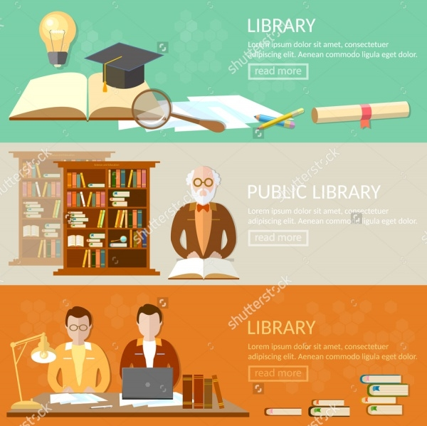 Library Education Banner