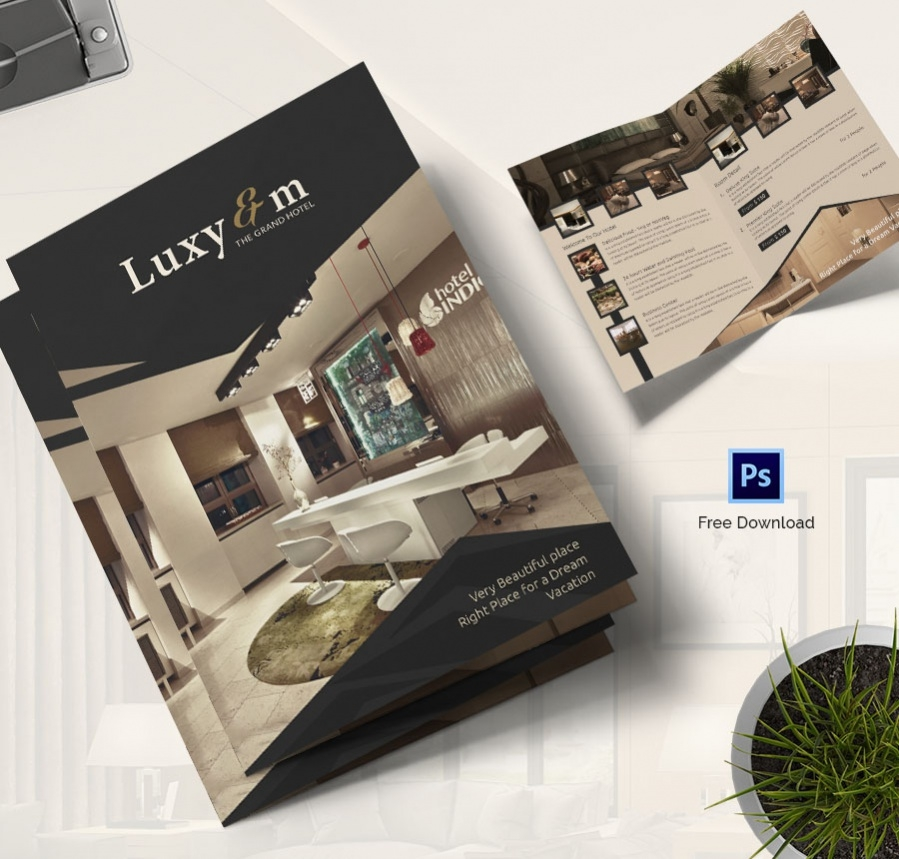 Luxary Hotel Bifold Brouchure(2)