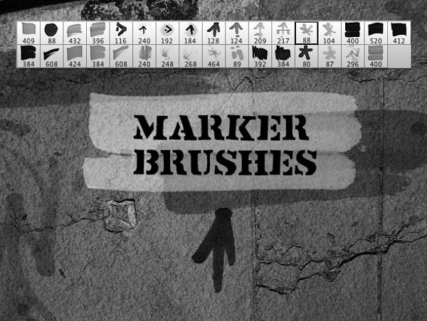 Marker Elements Brush Set