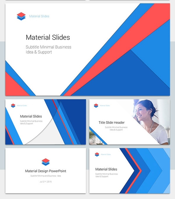 Material Sales PowerPoint Presentation Template