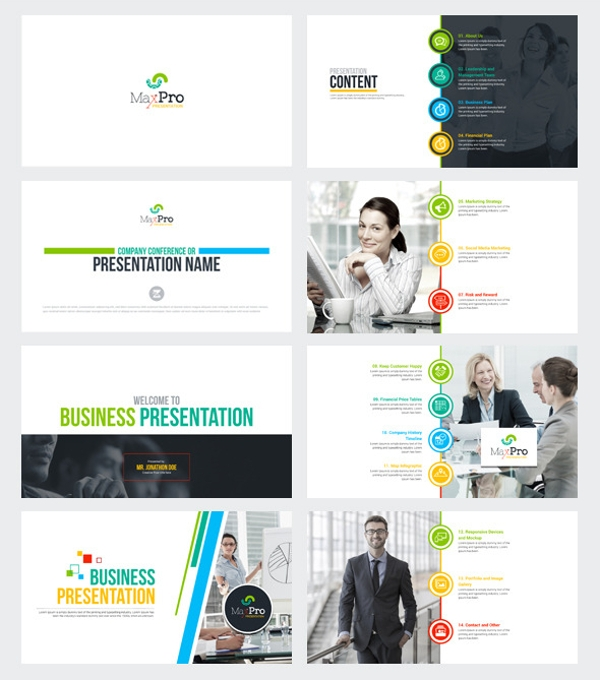 maxpro sales business plan powerpoint presentation