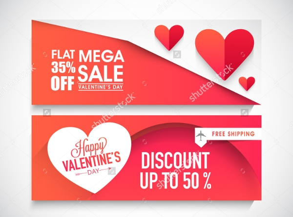 Mega Valentine Event Management Banner