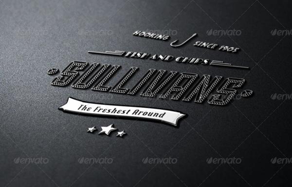 Minimal Typography Vector Design