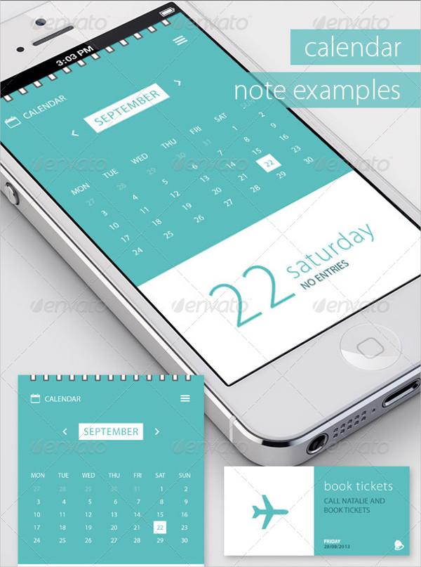 Mobile Event Calendar