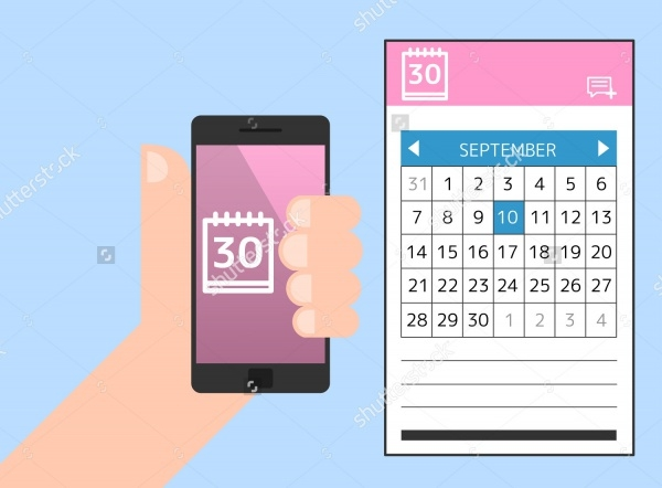 Mobile Framework Calendar