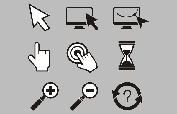 Mouse Cursors Hand Cursor Icons