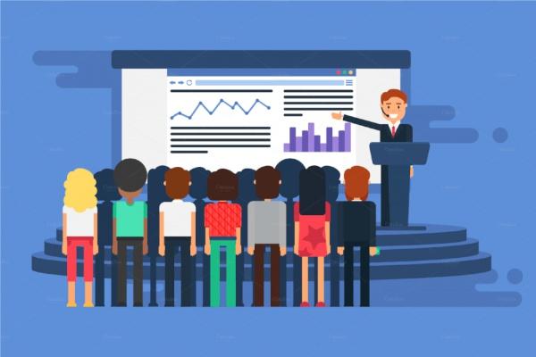 Online Graphic Multimedia Presentation