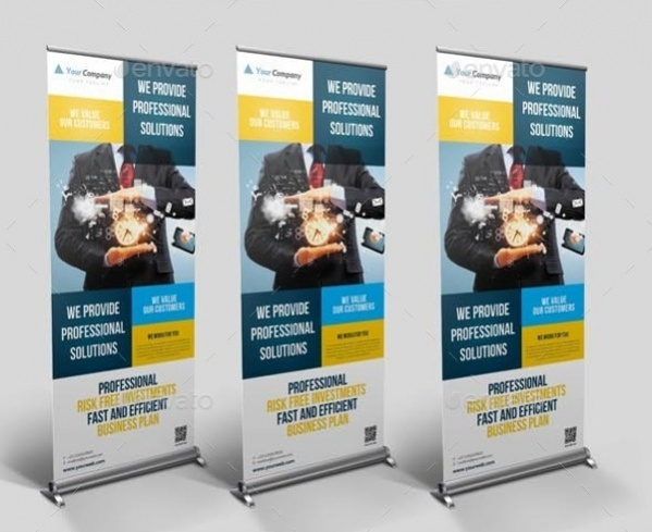 Pop Up Business Banner