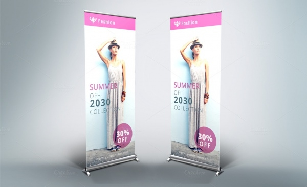 Pop Up Fashion Banner