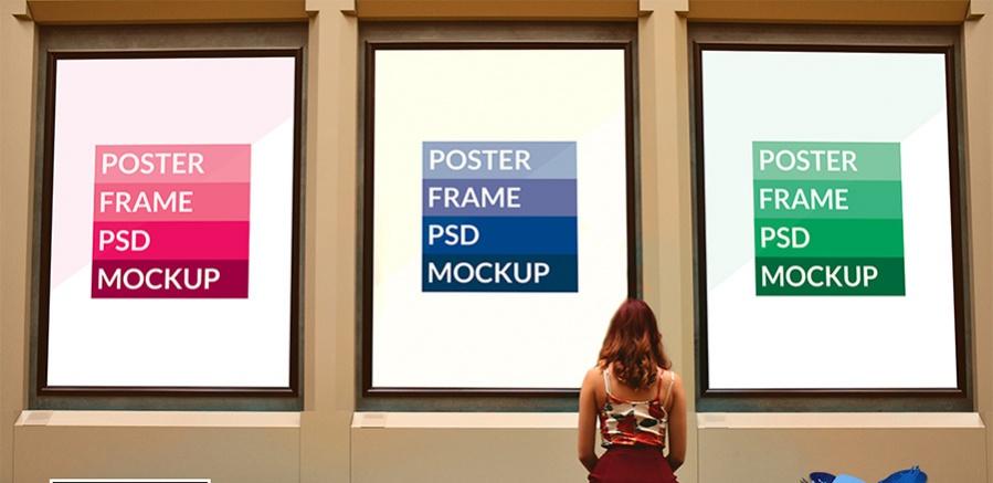 poster mockup series presentation