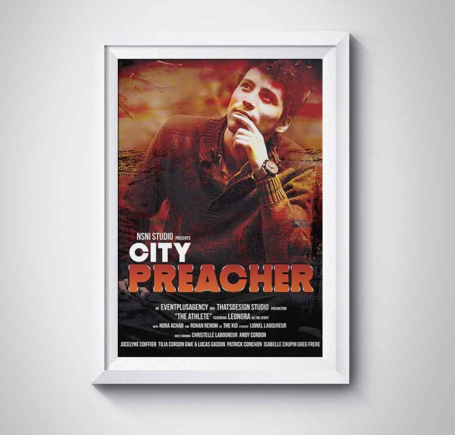 poster template for preacher movie