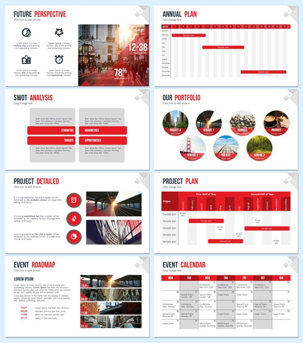 PowerPoint Sales Presentation Template
