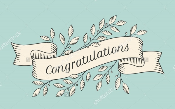 Printable Congratulations Banner