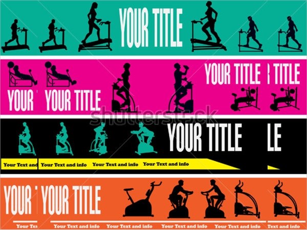 Printable Fitness Banner Design