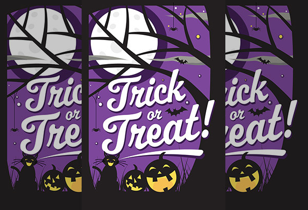 Printable Halloween Greeting Card