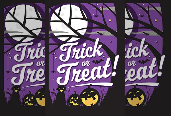 printable halloween greeting card