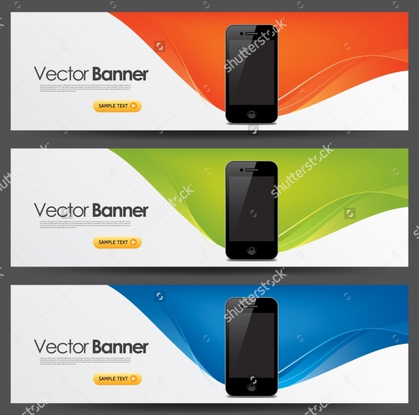 Product Phone Display Banner Design