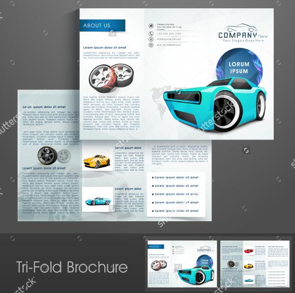 Professional Car Sale Brochure Design