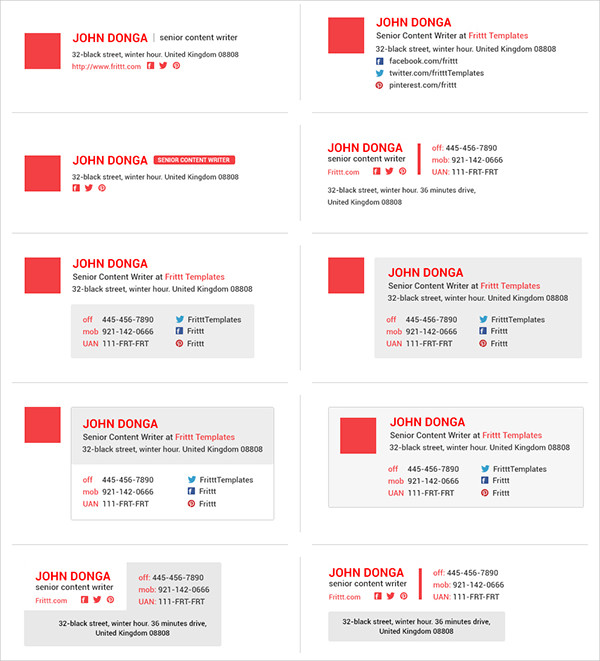 Business Email Templates  Psd Ai Illustrator Download