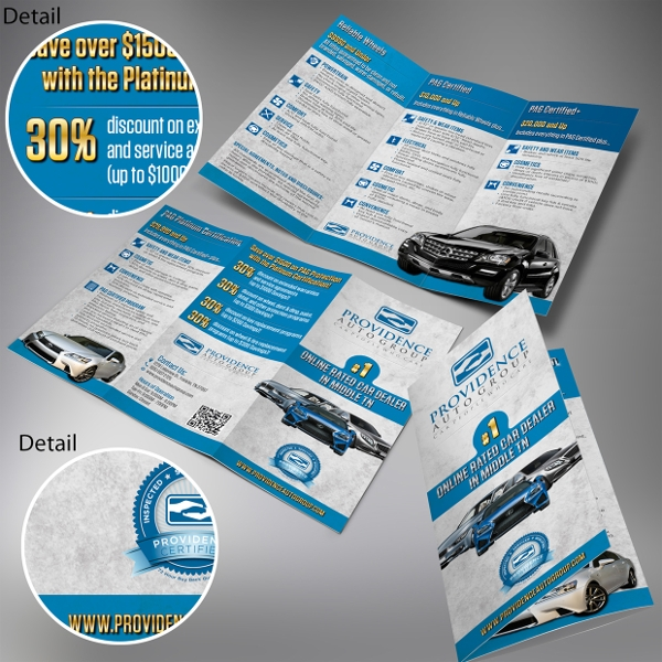 Providence Car TriFold Brochure