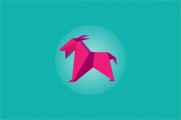 20+ Origami Logo Designs - PSD, AI Illustrator, Vector EPS ...