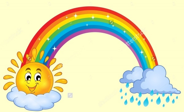 Rainbow Illustration Clipart