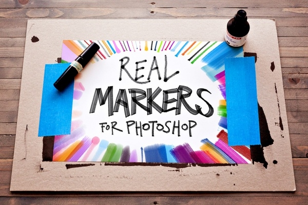 Real Markers Essentials Free Brushes