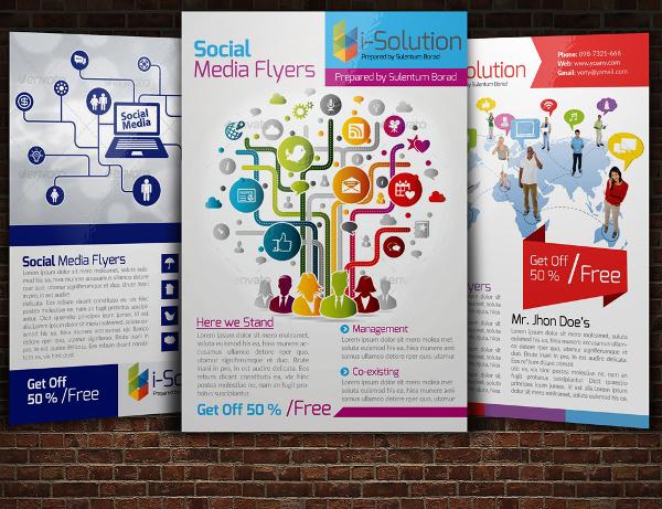 Realistic Social Media Flyer