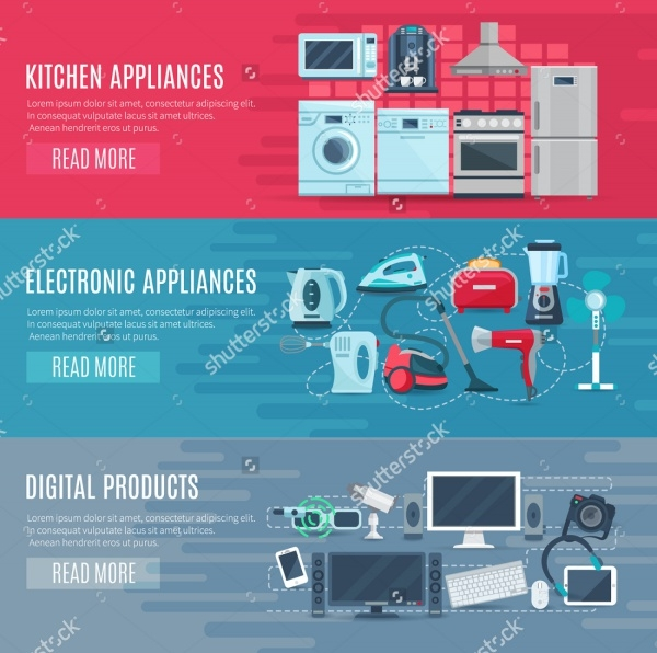 Retail Electronics Product Banner