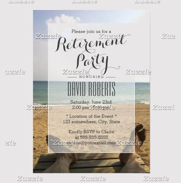 Retirement Farewell Invitation