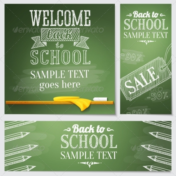 School Advertisement Banner
