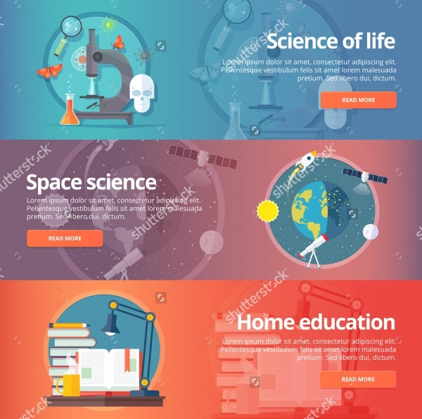 Science Education Banner