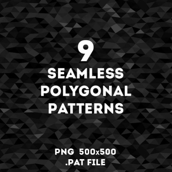 Seamless Polygon Pattern