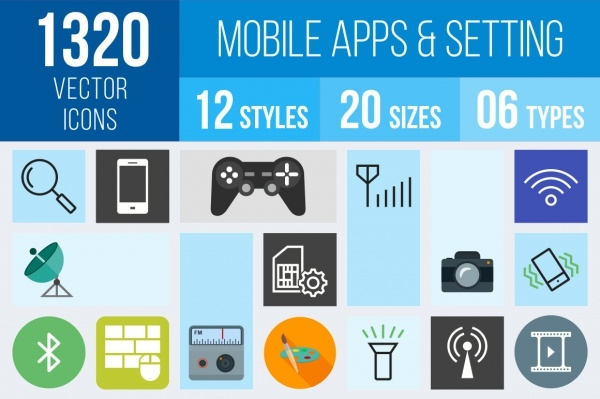 Setting Icons of Mobile Apps