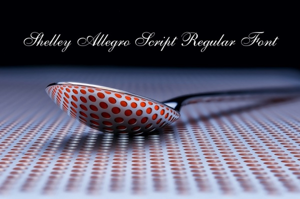 Shelley Allegro Script Regular Font